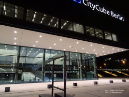 Hier fand der Parteitag statt: City Cube der Messe Berlin