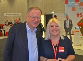 Niedersachsens Ministerpräsident Stephan Weil informierte sich ebenfalls über unsere Bewerbung