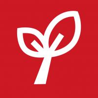 "Rotes Piktogramm ""Naturschutz"""